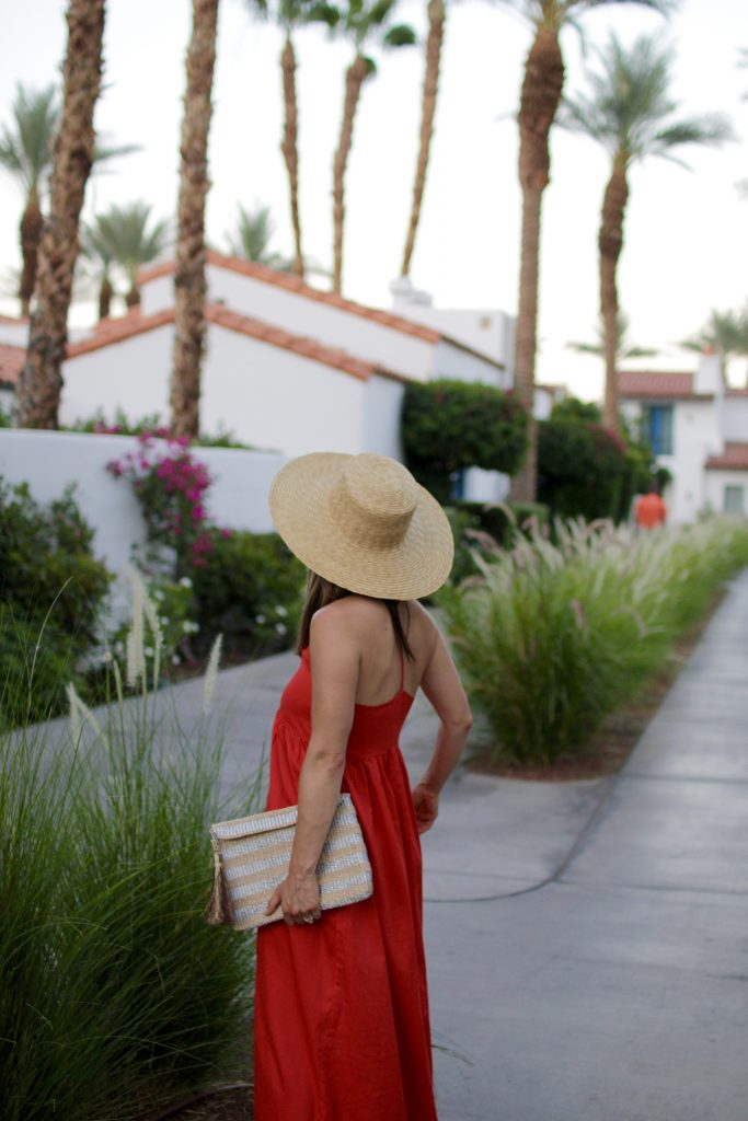red dress x boater hat, itsy bitsy indulgences