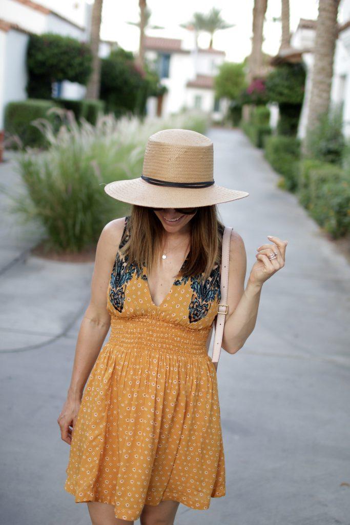 free people summer dress, itsy bitsy indulgences