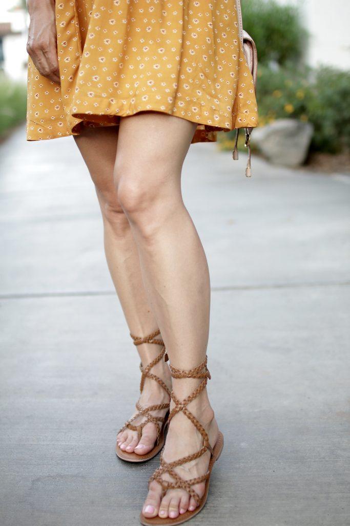 rope tie up sandals, itsy bitsy indulgences