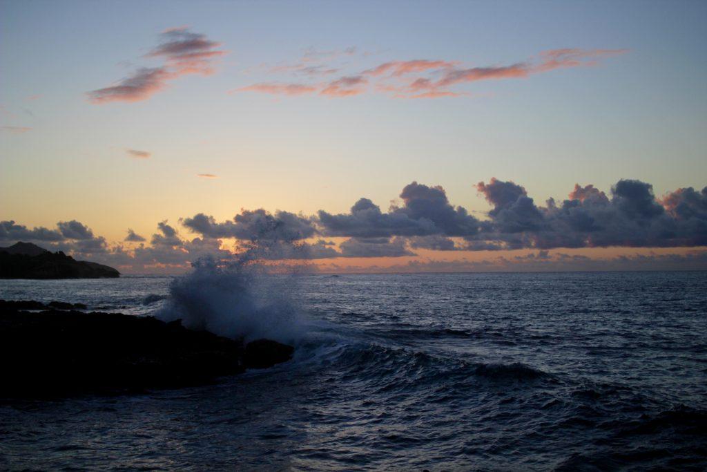 kauai sunrise, itsy bitsy indulgences
