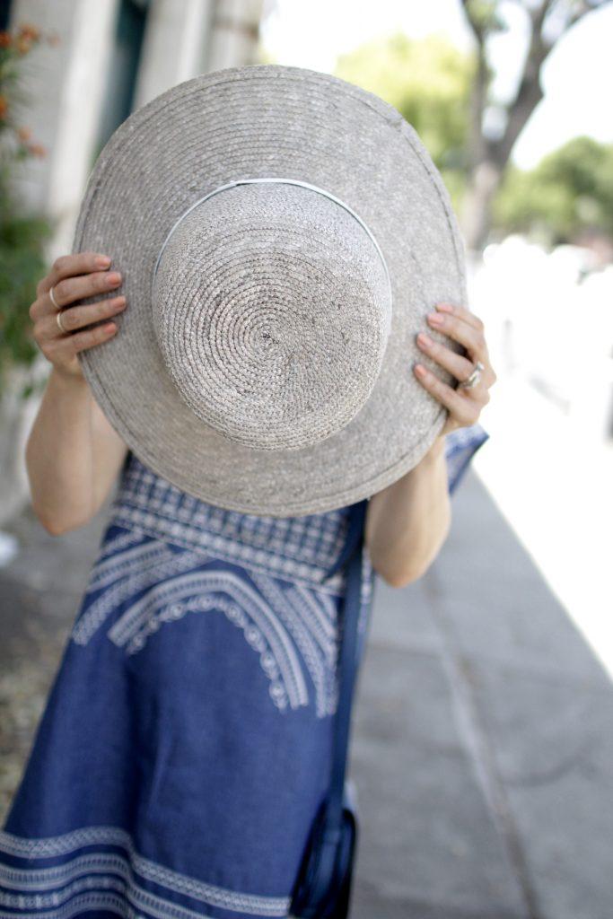 janessa leone hat, itsy bitsy indulgences