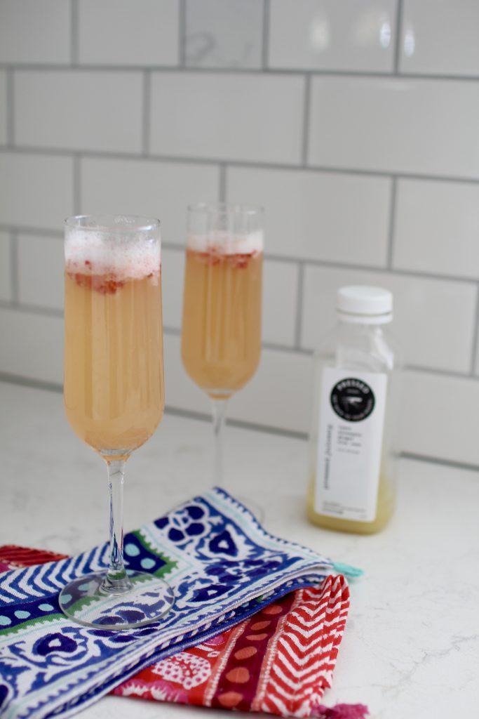 pressed juicery mimosa, itsy bitsy indulgences