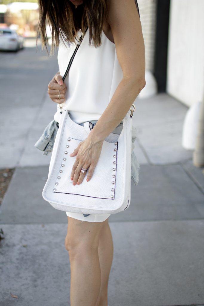 white feed bag, itsy bitsy indulgences