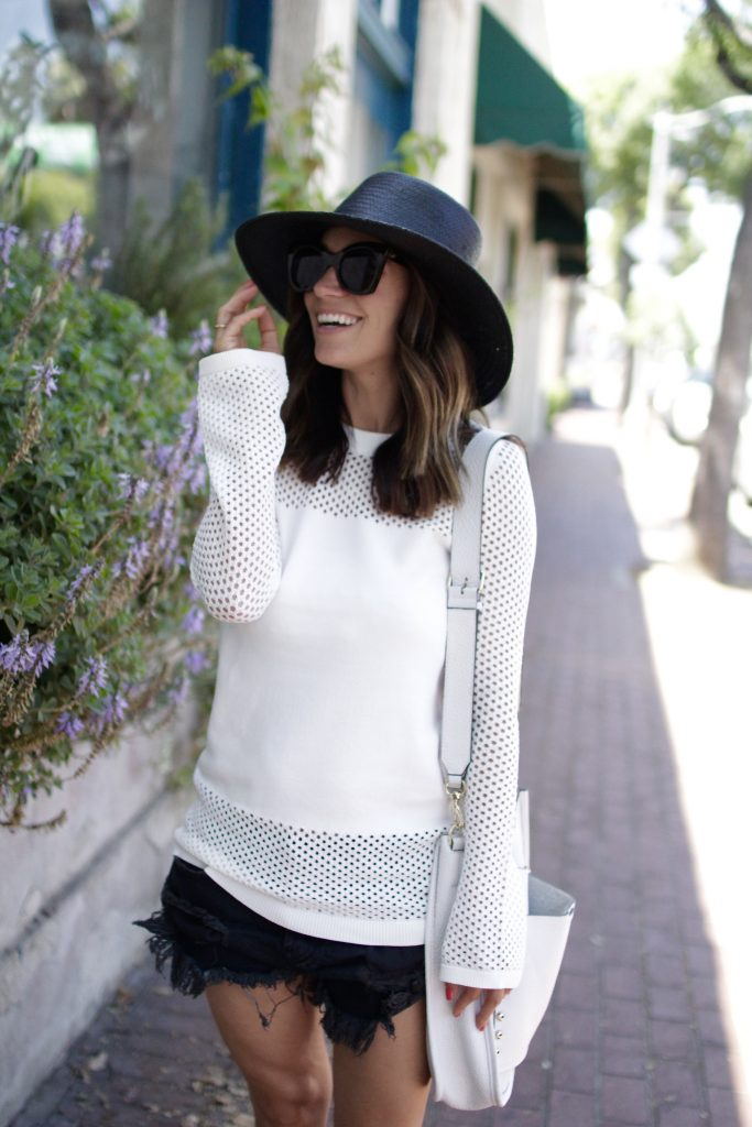 nordstrom anniversary sale sweater, itsy bitsy indulgences