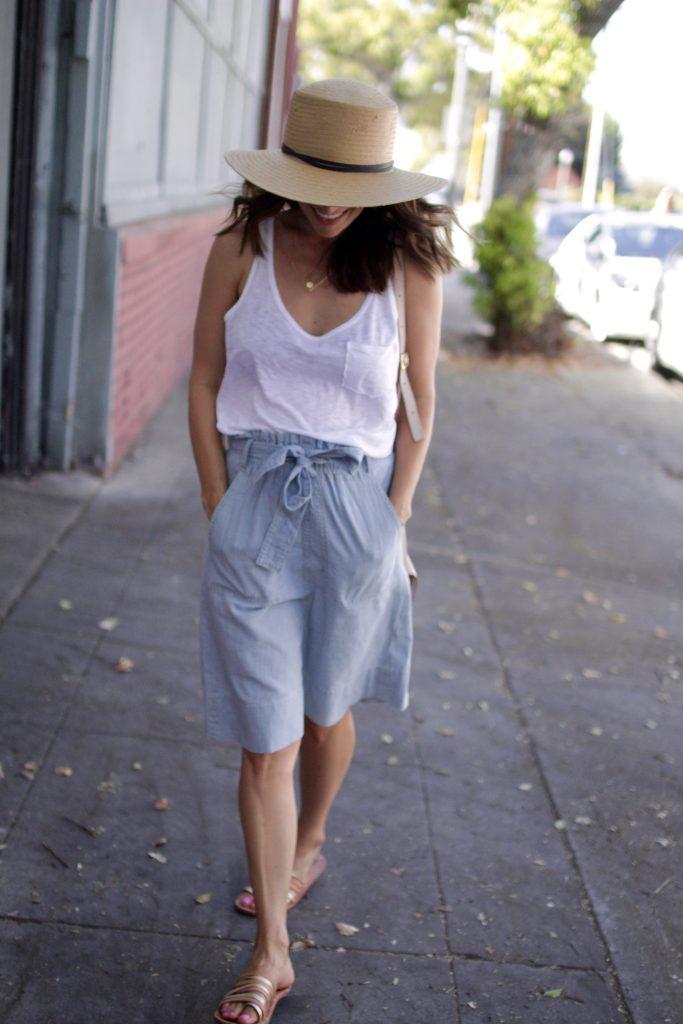 summer denim skirt, itsy bitsy indulgences