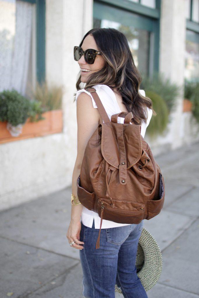 backpack, itsy bitsy indulgences