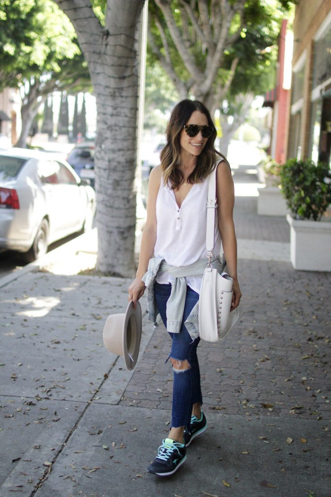 jeans + sneakers, itsy bitsy indulgences