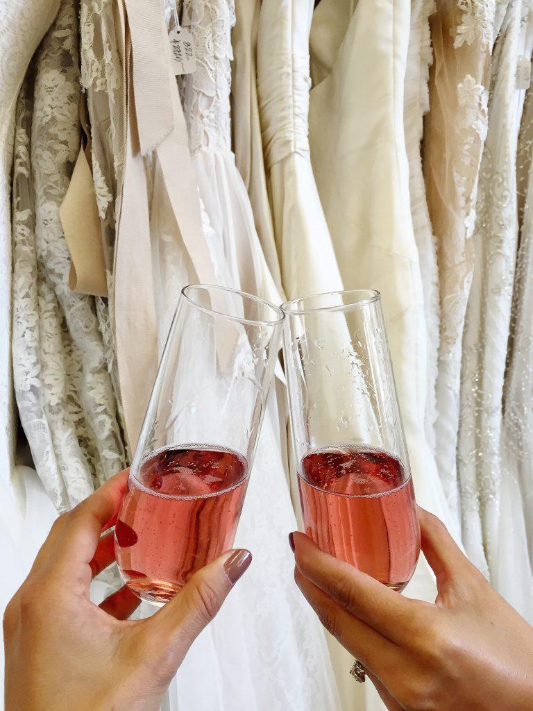rose champagne, itsy bitsy indulgences