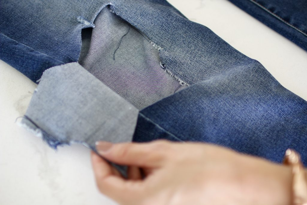 diy denim, itsy bitsy indulgences