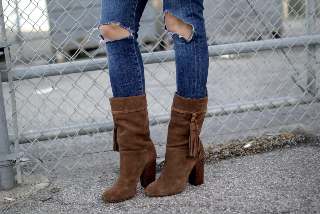 calf high slouchy booties, itsy bitsy indulgences