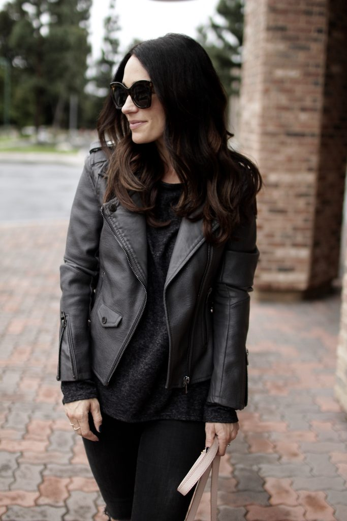 black x charcoal grey outfit, itsy bitsy indulgences