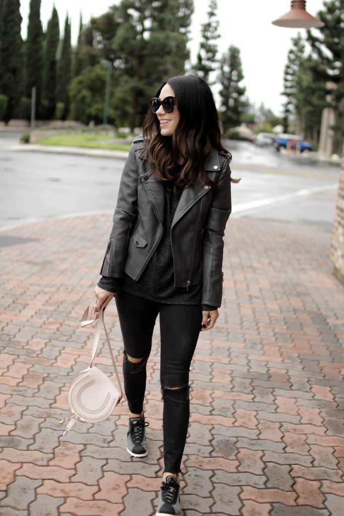 all black ensemble, itsy bitsy indulgences