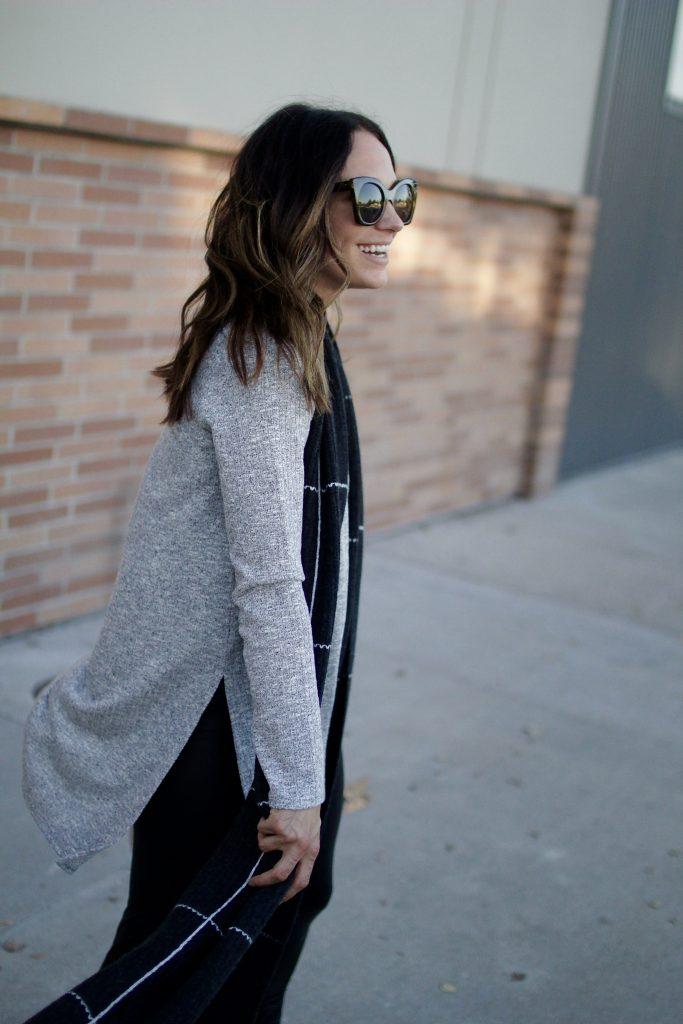 side slit sweater, itsy bitsy indulgences