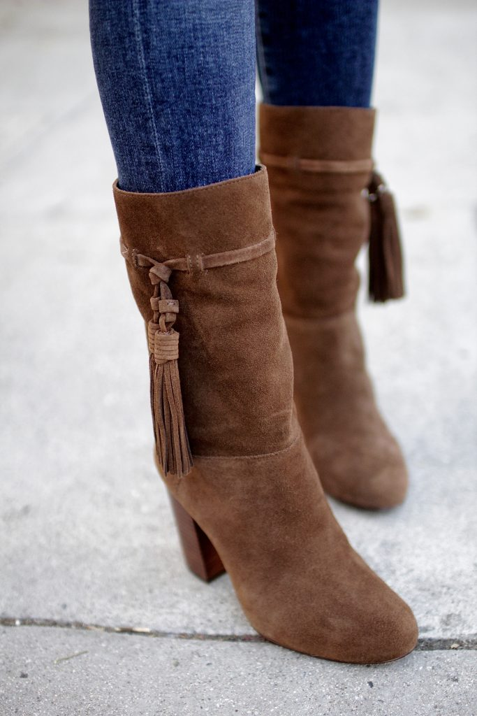 calf booties, itsy bitsy indulgences