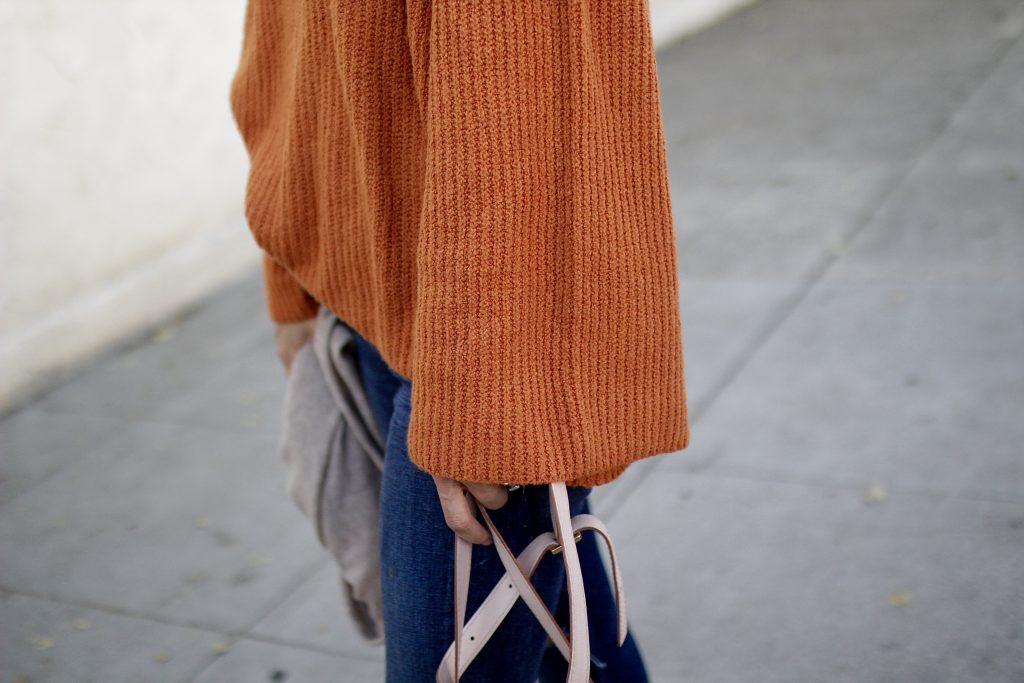bell sleeved sweater, itsy bitsy indulgences