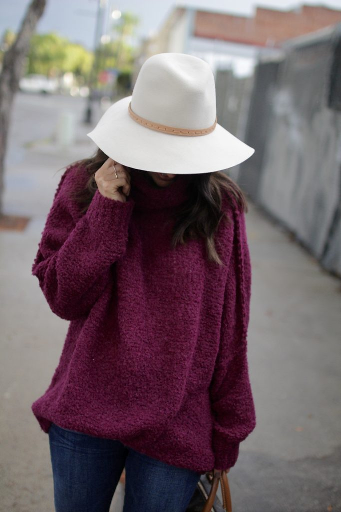 floppy fall fedora, itsy bitsy indulgences
