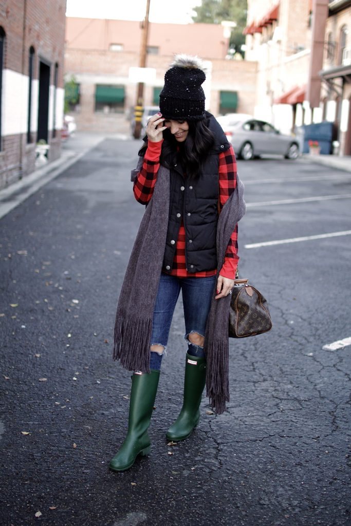 layered winter outfit, itsy bitsy indulgences