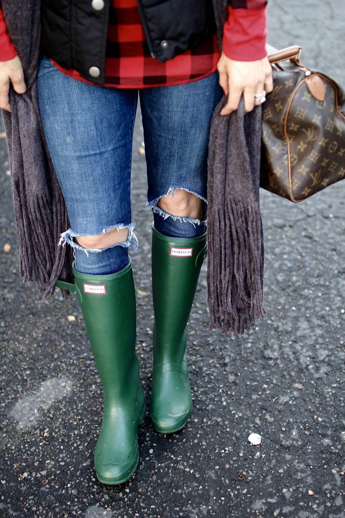 green hunter boots, itsy bitsy indulgences
