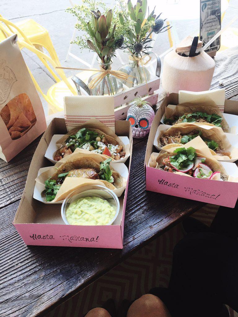chicas tacos, itsy bitsy indulgences
