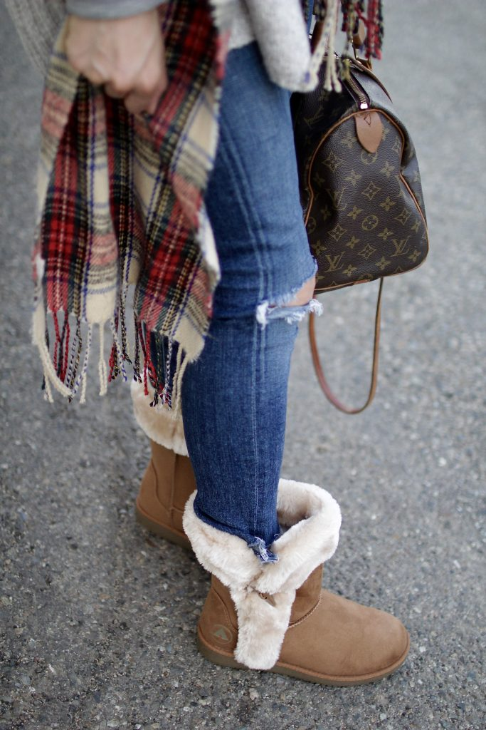 cozy shearling booties, itsy bitsy indulgences